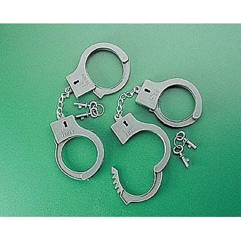Plastic Handcuffs With 2 Keys (1 Dozen) - Bulk