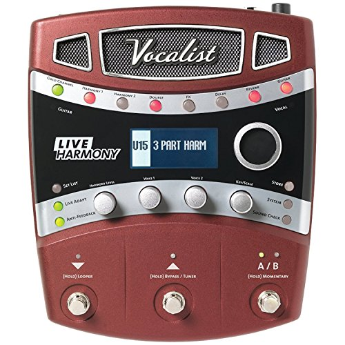 Digitech VLHM Vocal Effects Processor