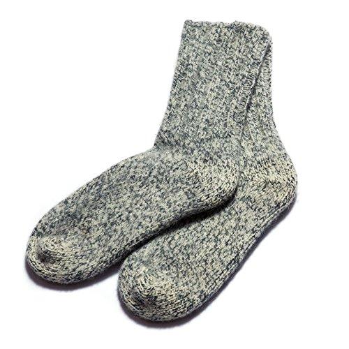 Dachstein Woolwear 4 Ply100% Austrian Wool Extreme Warm Socks Grey Shoe Size 13 - Ply Liner Winter