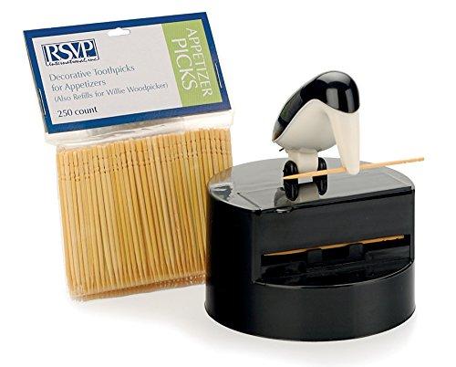 RSVP Refill Toothpicks for Item WWP-24 (250 count) (Toothpick Bird Dispenser)