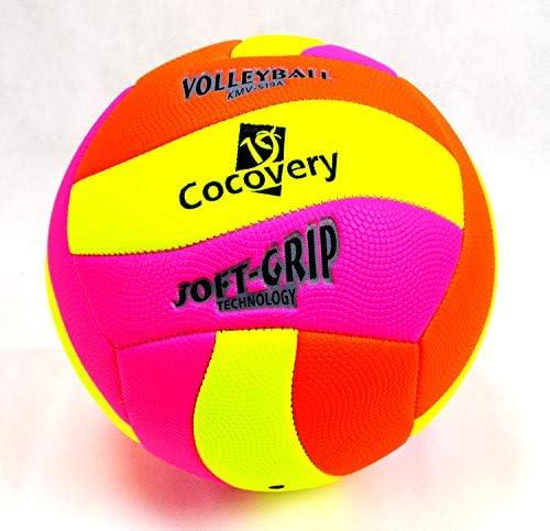 Cocovery19 Balón Voley-Playa Colores neón (Verde): Amazon.es ...