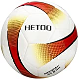 hetoo Waterproof Soccer Ball, Most Reasonable Construction Technology Football Adult Kids, Best Outdoor Sports Practice Soccer Ball-Size 5 (size 5)