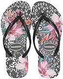 Havaianas Kids' Slim Animal Floral Flip Flop Sandal