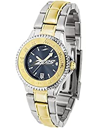 Army Black Knights Ladies Stainless Steel and Gold Tone Watch