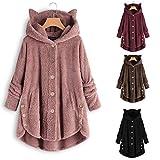 Auimank Women Autumn Winter Warm Comfortable Coat