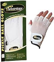 Advantage Pickleball Unisex Glove Half Finger Right Hand - L