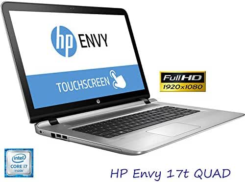 HP Envy Touch 17t Quad Edition 17.3-Inch Full HD LED Laptop (Intel i7 up to 3.5GHz 2TB 16GB B&O Audio WiFi HDMI) (Certified Refurbished)