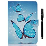 inShang iPad iPad air 2 / iPad 6 case Color Painting cover for iPad iPad air 2 (2014) Multi-function stand case+1pc High end class business stylus Pen