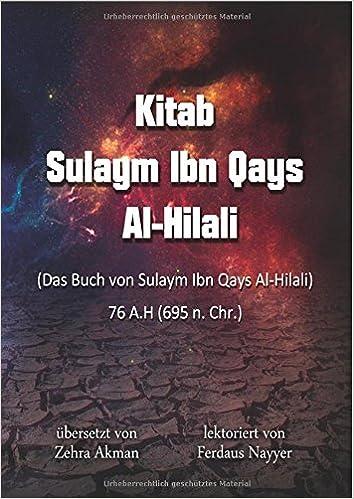 KITAB SULAIM BIN QAIS HILALI PDF DOWNLOAD