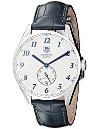 Tag Heuer Men's WAS2111.FC6293 Carrera Analog Display Swiss Automatic Blue Watch