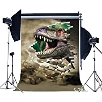 Photography Backdrops, Kate No Wrinkles Jurassic Film Backgrounds Photography Backdrops for Studio 5×6.5FT