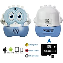KUBY Baby Surveillance IP Camera ( Blue ) – It's recorder. It's camera . It's home security surveillance. It's Interactive assistance . It's also stunning decorative artwork .