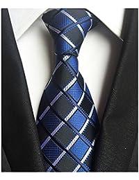 Men's Classic Tie Silk Woven Necktie Jacquard Neck Ties For Men