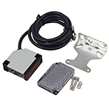 CNBTR Plastic DC 10-24V 3A E3JK-R4M1 Specular Reflection Photoelectric Sensor Switch