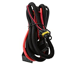 MagiDeal Xenon HID Conversion Kit Relay Wiring Harness H1 H3 H4 H7 H8 H9 H10 H11 H13 H16 9004 9005 9006 9140 9145 9012 5202 HB3 HB4