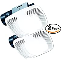Air King BFQ75 ENERGY STAR Qualified SNAP-IN Exhaust Fan, 70 CFM 1.5 Sones 2 Pack