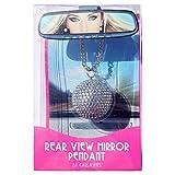 Carlashes 1201BA Clear Rear View Mirror Pendant