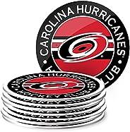 Carolina Hurricanes Team Logo Beverage Coaster Set (Package of 8)