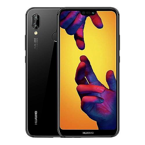 Huawei P20 Lite 64 GB 5.8-Inch FHD+ FullView Android 8.0 SIM-Free Smartphone, Dual SIM, UK Version - Midnight Black