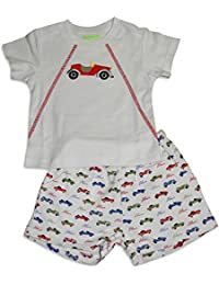 Baby Boys Short Sleeve Short Set - 17 Combinations to Choose
