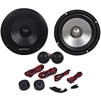 Rockville RVL6KIT 6.5 800Watt/Pair Component Car Audio Speakers Aluminum Cone