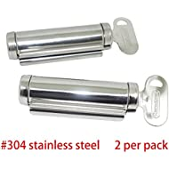 Osun Life Stainless Steel Patented Tube Winder Squeezer (2 per Pack)