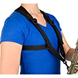 Protec Saxophone Harness with Deluxe Metal Trigger Snap, Small, Model A306SM