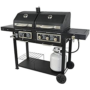 Gas Ignition Charcoal Grill