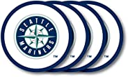 MLB Unisex Vinyl Coaster Set