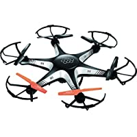 HoverFit 3D Flip-Roll 6 Axis Gyro Stabilized 6 propeller Drone with installable Camera