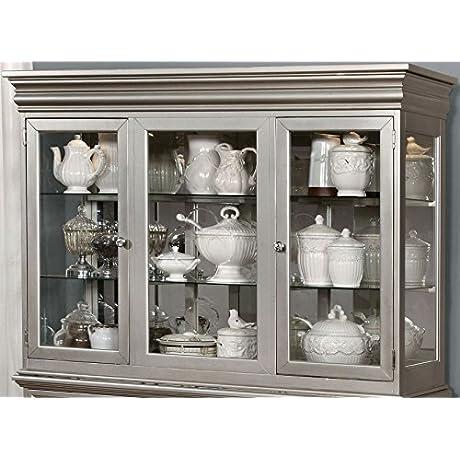 Furniture Of America CM3219H Amina Champagne Hutch Miscellaneous Home Office Desk