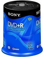 Disc,DVD+R,4.7g,General Use, 16x100/Pk