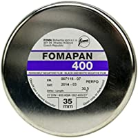 Foma Fomapan 400 ISO Black & White Negative Film, 35mm x 100 ft.