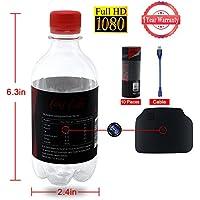 Bottle Spy HD Camera 1080P Hidden Nanny Camera LXMIMI Portable Plastic Drinking Water Surveillance Camera