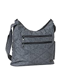 Lug Women's Cable Car 2.0 Satchel Shoulder Bag, Heather Grey, One Size