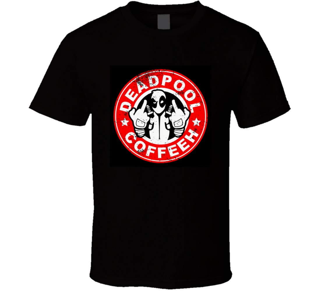 Zxbao Dead Pool Coffee T Shirt 1605
