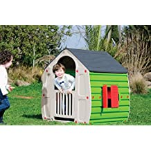 Kids Plastic Magical Playhouse with Gray Roof