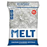 50 Lb. Resealable Bag Calcium Chloride Crystals Ice Melter - MELT50CC - by CandyCane3
