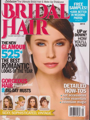 Bridal Hair 2013 Magazine Celebrity Hairstyles #105 (Celebrity Styles Magazine Hair)