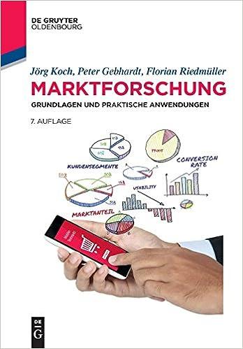 Marktforschung  Grundlagen und praktische Anwendungen (De Gruyter - Jörg  Koch, Peter Gebhardt, Florian - Amazon.de  Bücher 22ea20f011