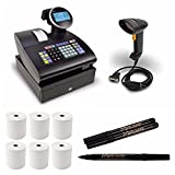 Royal Alpha Cash Register (1100ML) with Handheld Barcode Laser Scanner Bundle