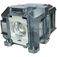AuraBeam Economy Epson ELP LP67 Projector Replacement Lamp with Housing