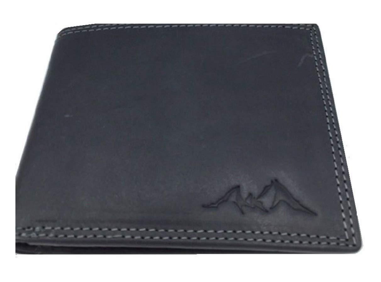 3b9ee8406804b4 HJP Herrenbörse Königssee Riegel Geldbörse Watzmann Börse Herren Leder  (schwarz): Amazon.de: Koffer, Rucksäcke & Taschen