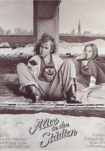 Alice In The Cities Poster Movie German Ruediger Vogler Yella Rottlaender