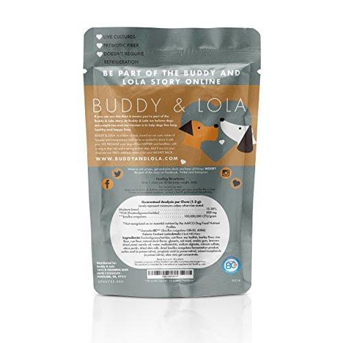 Buddy Lola Probiotics For Dogs Probiotics