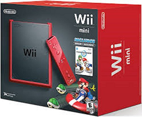 Nintendo Wii Mini Red Console Players