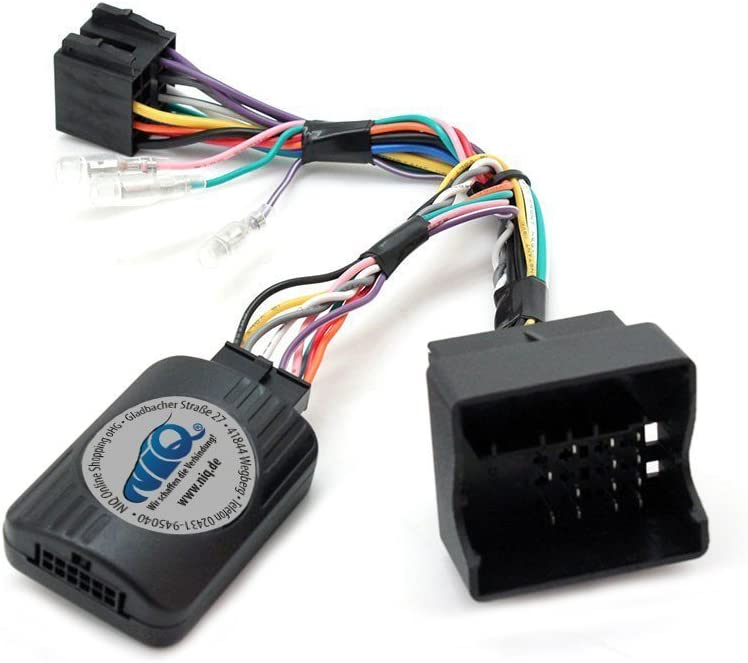 T1/Audio Adaptateur pour interface de commande au volant avec jeu de c/âbles T1-RN5