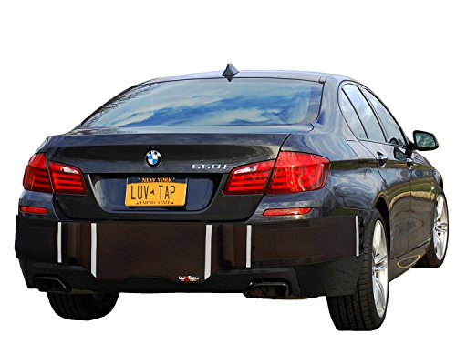 Luv-Tap BG001 - Complete Coverage Universal Fit Rear Bumper Guard for Trunk Mounted Rear License Plate Vehicles - Covers The Entire Bumper