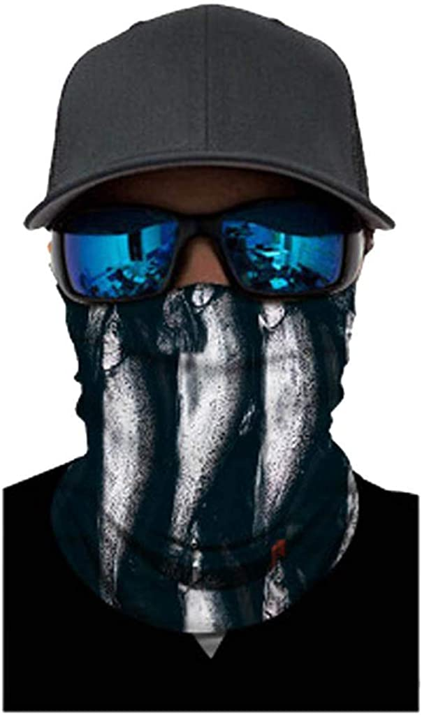 Moneycom Wiederverwendbar Radfahren Motorrad-Kopf-Schal-Ansatz-W/ärmer-Gesichtsmaske-Ski-Balaclava Stirnband Waschbar Polyester Mehrfarbig