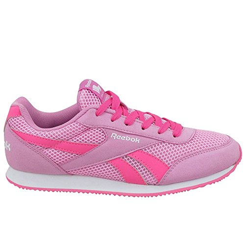Royal Icono Pink White Fille Entrainement 2rs Running de Cljog Solar Pink Rosa Chaussures Blanco Reebok SFxdqS